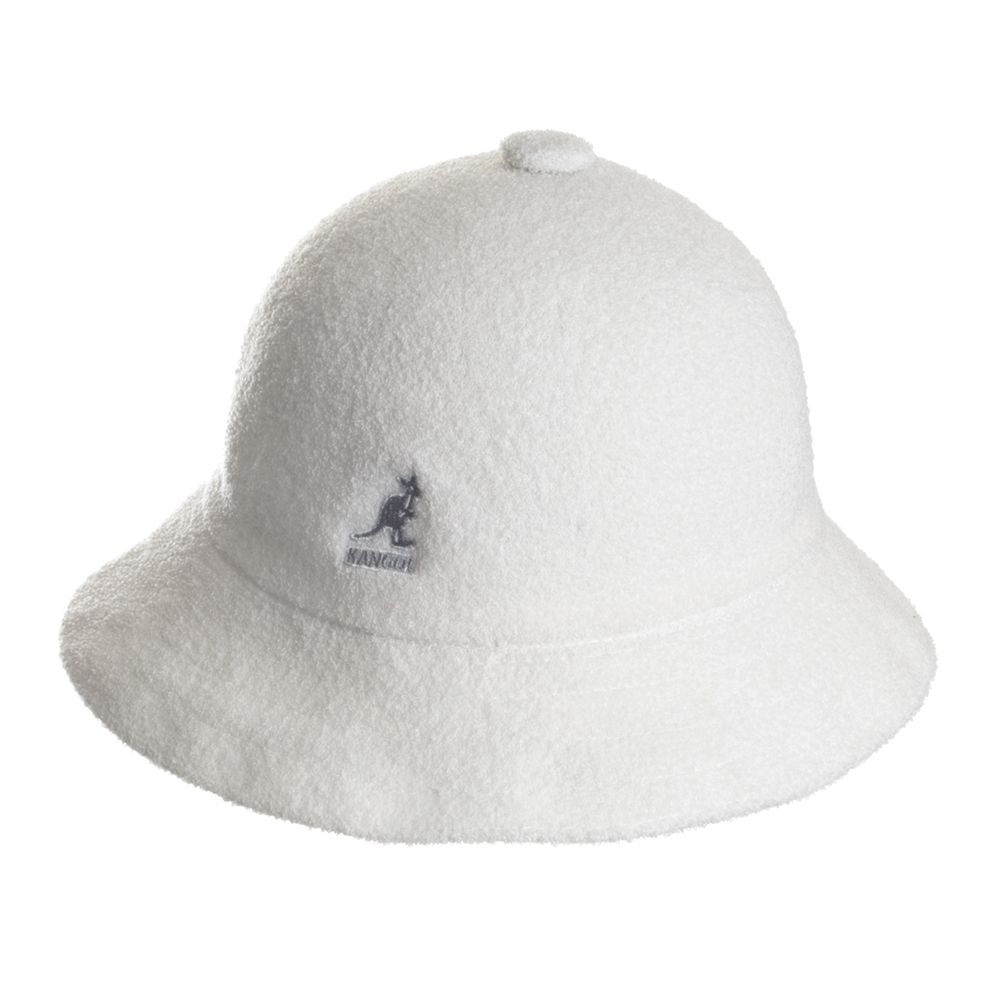 da2086c3656 Kangol Bermuda Casual Bucket Hat - White