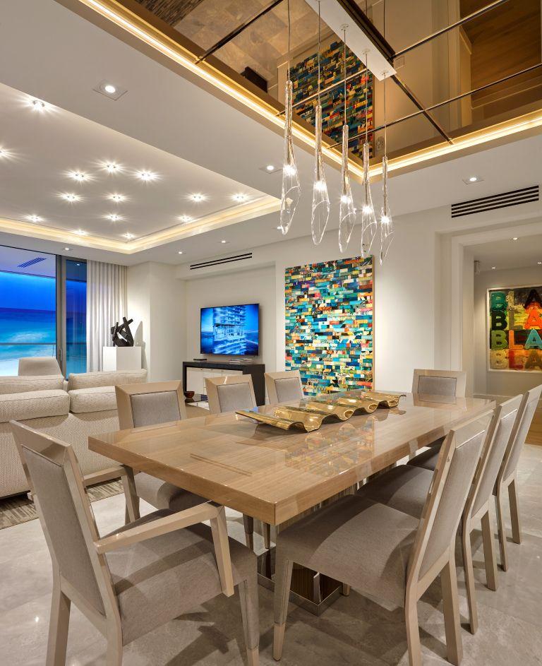 23 Dining Room Ceiling Designs Decorating Ideas: Dining Room #TurnberryOceanClub