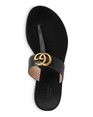 Gucci Women's Marmont Thong Sandals