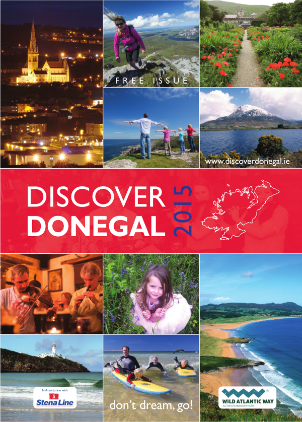 Discover Donegal 3D Issue 2015