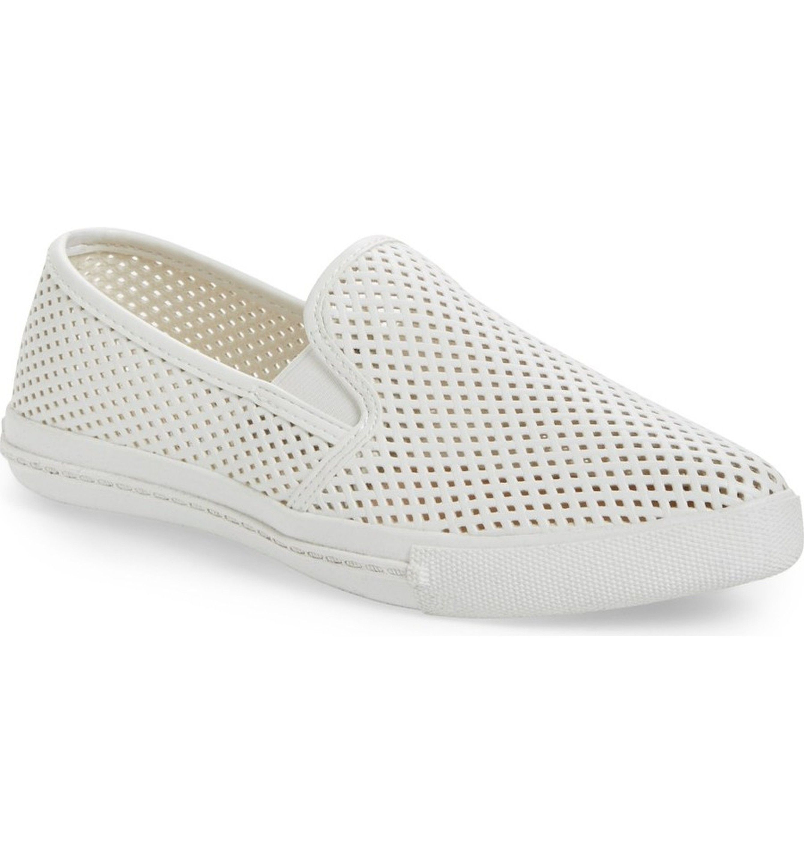 62a98150eef Main Image - Steve Madden  Virggo  Perforated Slip-On Sneaker (Women ...