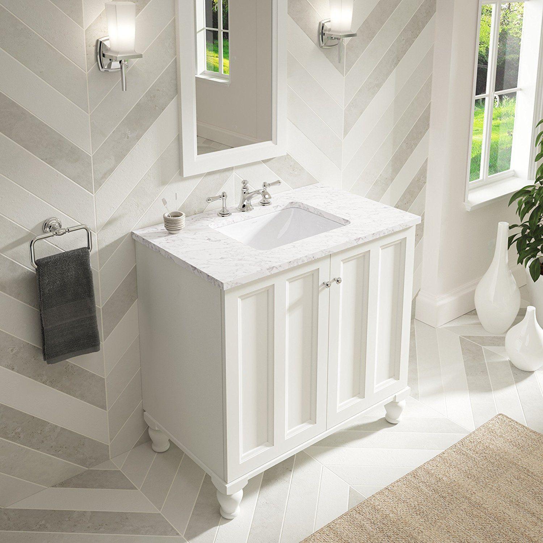 KOHLER K-20000-0 Caxton Rectangle 20-5/16 x 15-. Undermount Bathroom  SinkBathroom ...