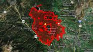 Crisis map: Fires across the nation
