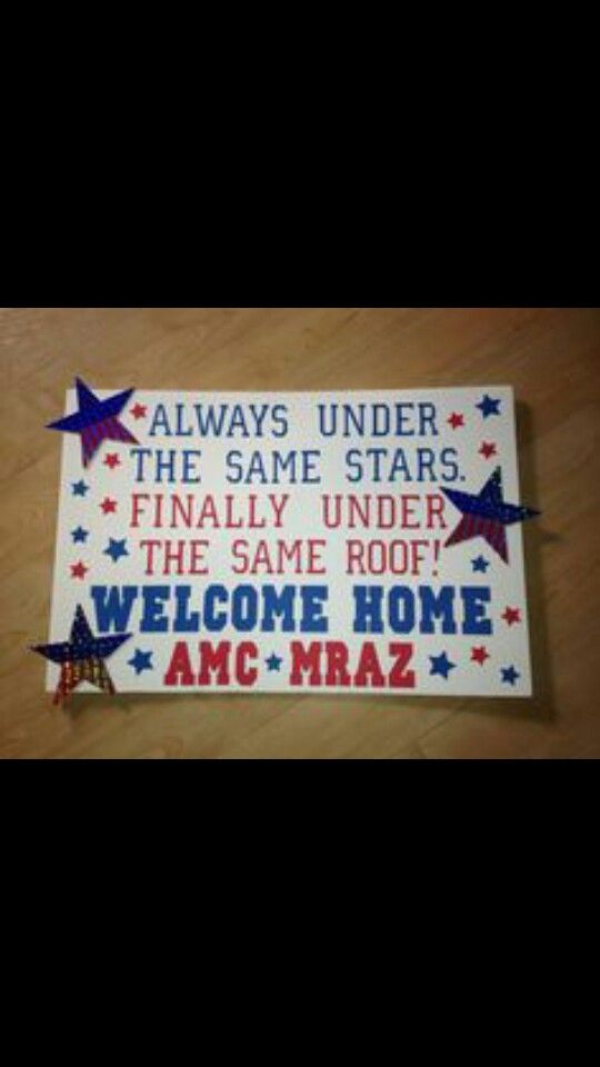 welcome home military sign ideas welcome home signs ideas for