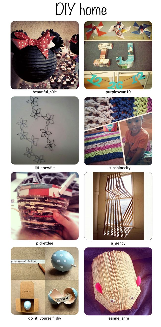 Dare to DIY in English: IGers who dare to diy: new inspiring ideas