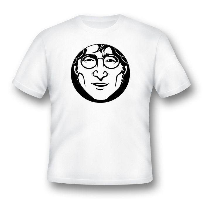 Camiseta John Lennon Estilizado