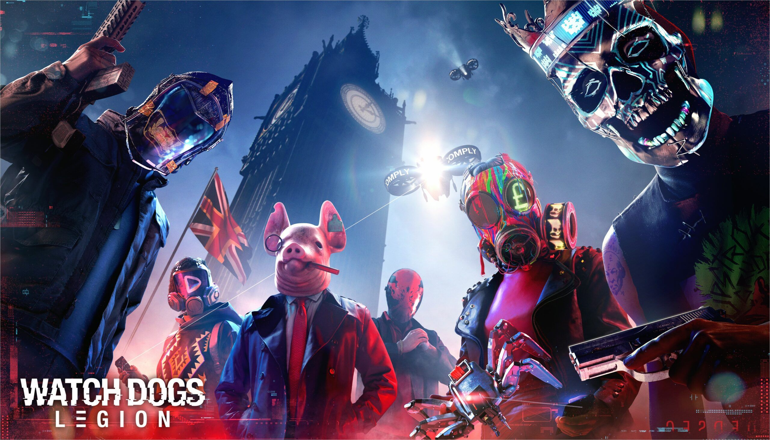 4k Wallpaper Watch Dogs In 2020 With Images Watch Dogs Legion