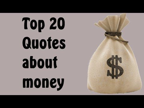 Top 20 Quotes about money From Famous People best 20 Quotes about money.