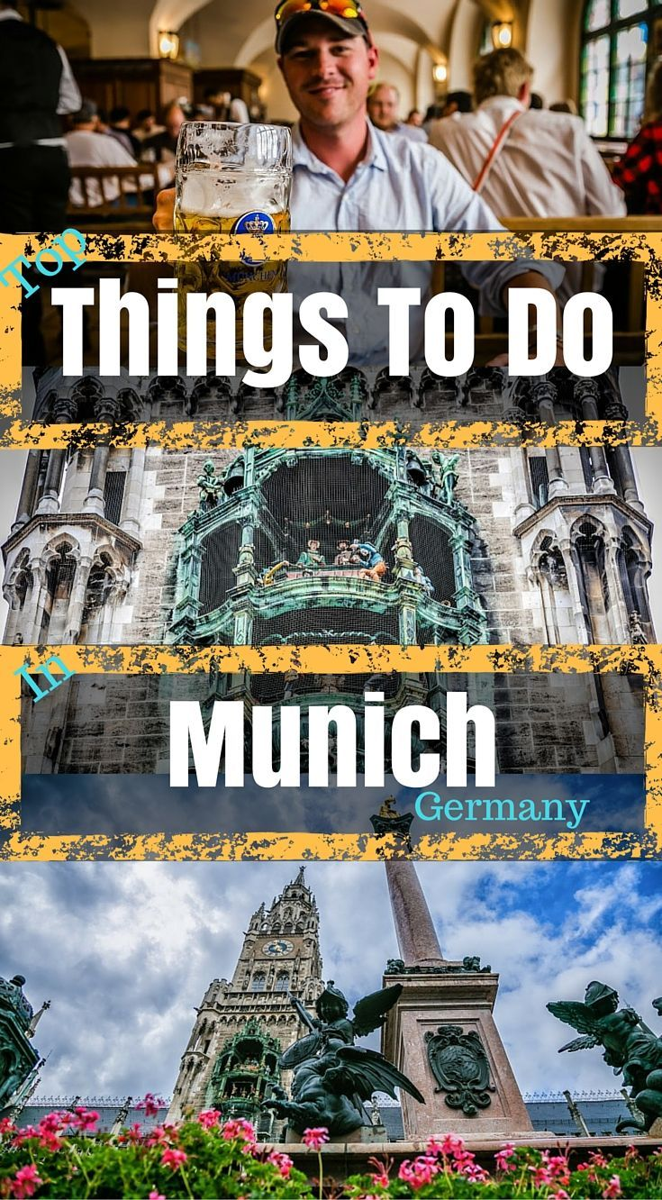 25 Unique Things to Do in Munich (Plus 4 Day Munich Itinerary!)   Germany travel, Travel, Germany