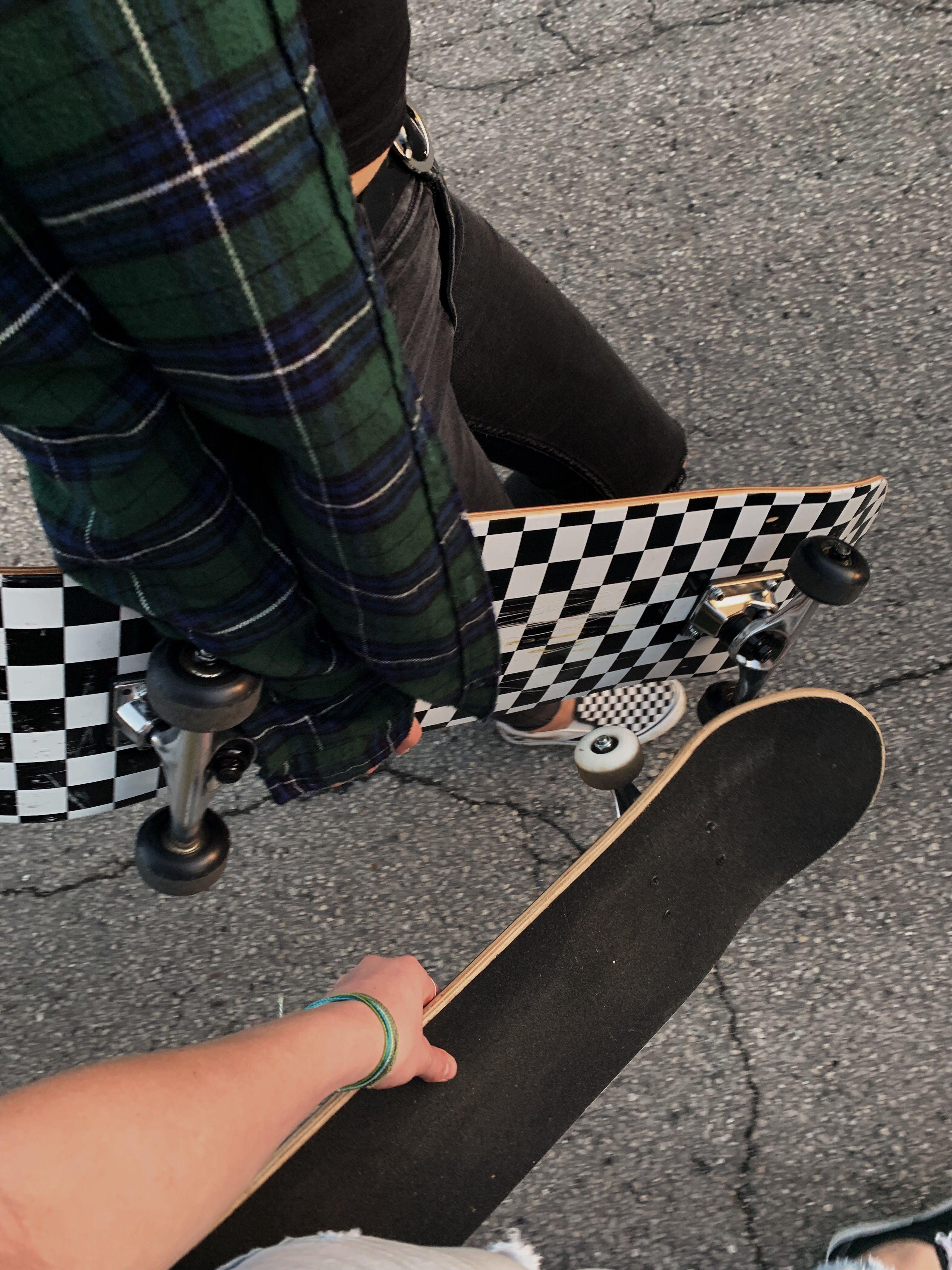 Grunge Skater Girl Aesthetic