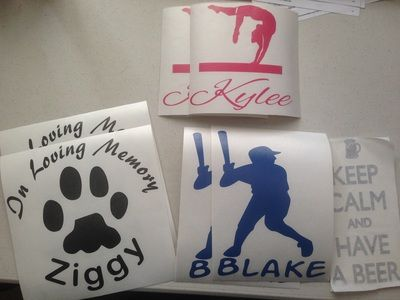 A few good orders to send out today.  Thank you Granite City Graphic customers!