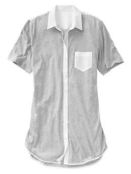 This jersey nightshirt looks SO comfy!  Take an extra 30% off with code:  SAVE http://rstyle.me/~21i43