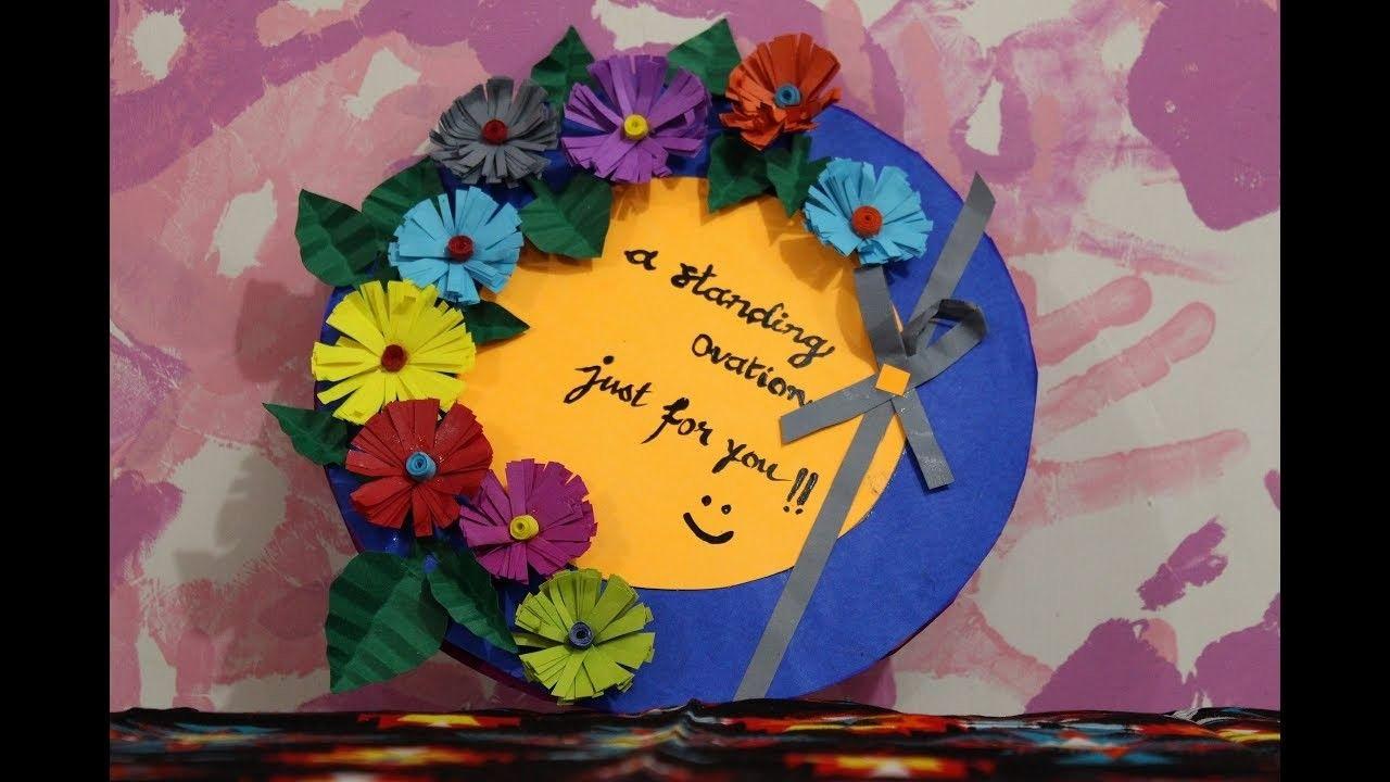 Diy Teacher S Day Card Making Idea Ft Ranji Raj Nair Handmade Appreciation Card For Teacher S Day Happy Teachers Day Card Teachers Day Card Design Teacher Birthday Card
