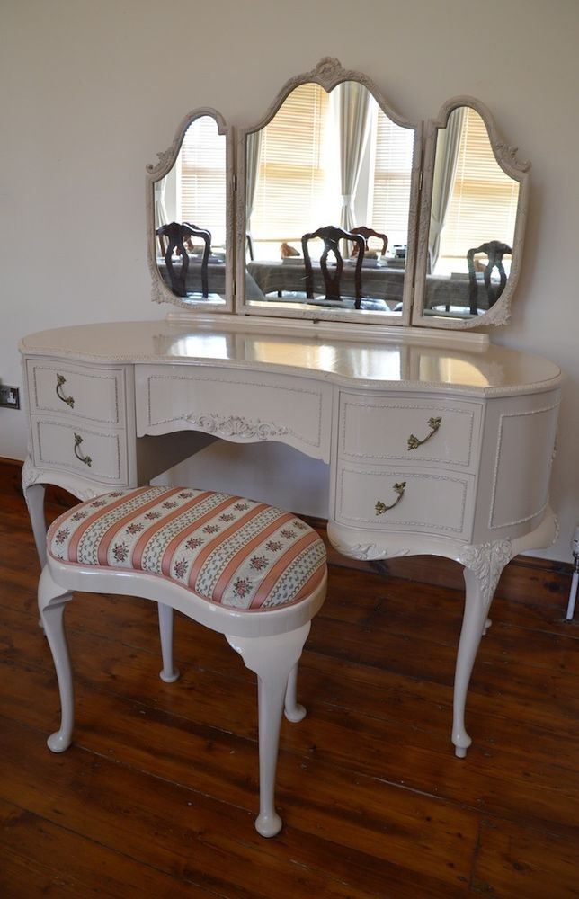 French Louis Style Shabby Chic Olympus Antoinette Dressing