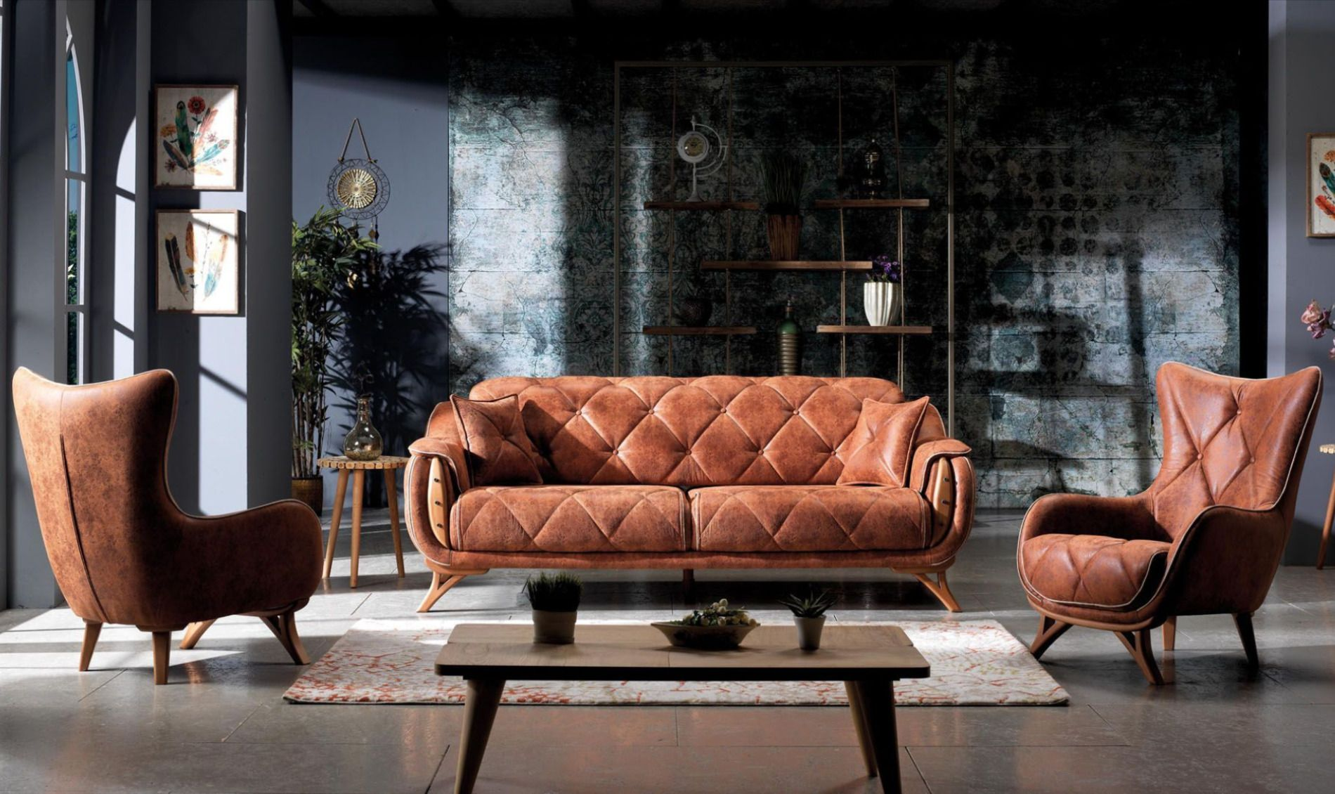 Diamond انتريه مودرن Modern Living Room Home Decor Chaise Lounge