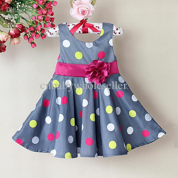 Little Girl Casual Dresses | ... Dresses Princess Girl Clothing ...