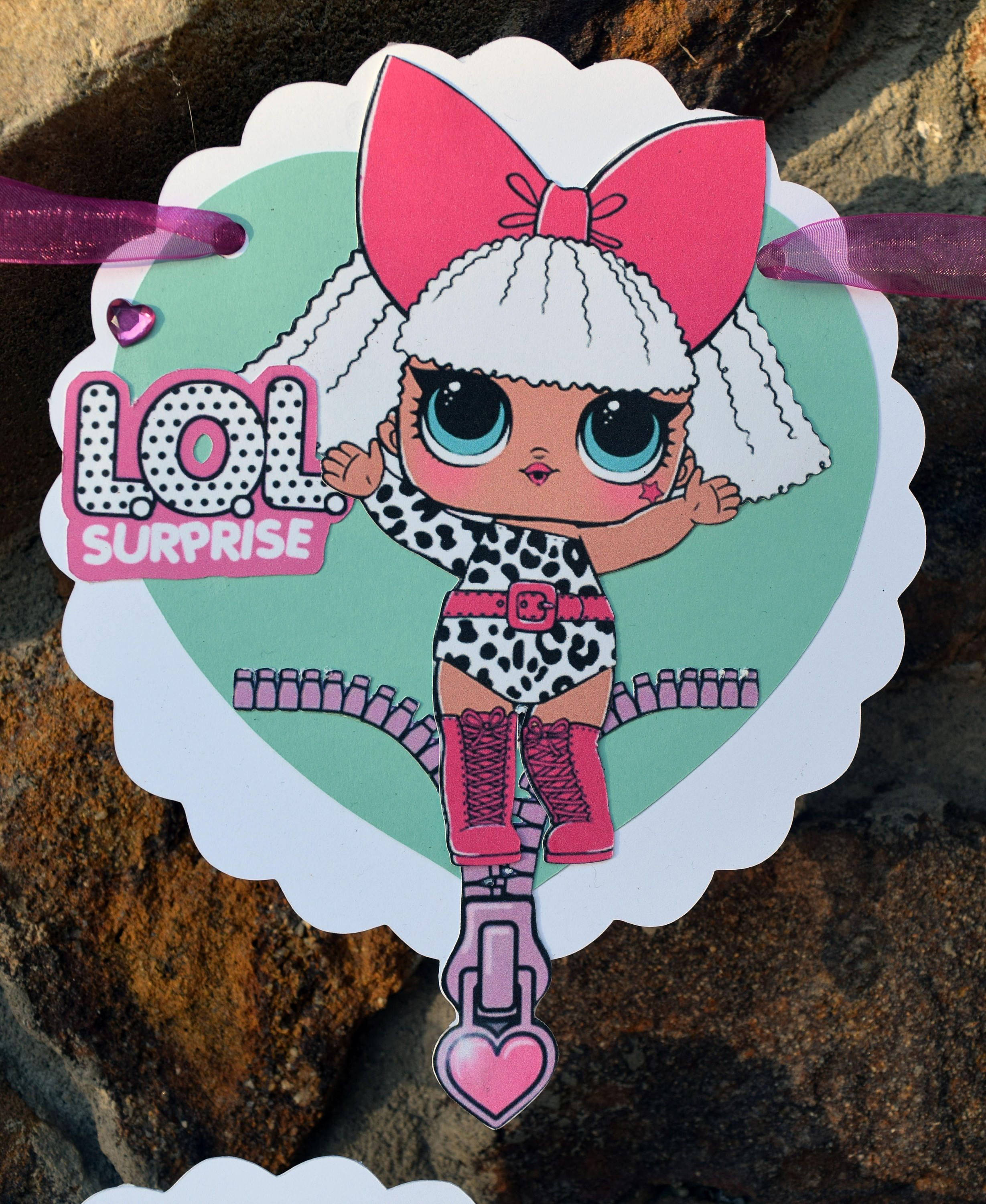 Pin By Designedmagic On Lol Suprise Doll Birthday Party Banner Lol