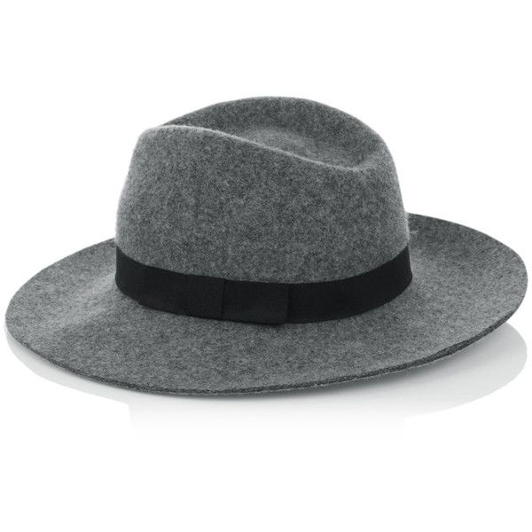 Warehouse Fedora Hat ($15) ❤ Liked On Polyvore Featuring Accessories, Hats,  Grey