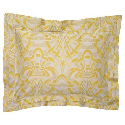 Axelle Duvet Sham by Company C Gold - 10253-GOLD-STAND