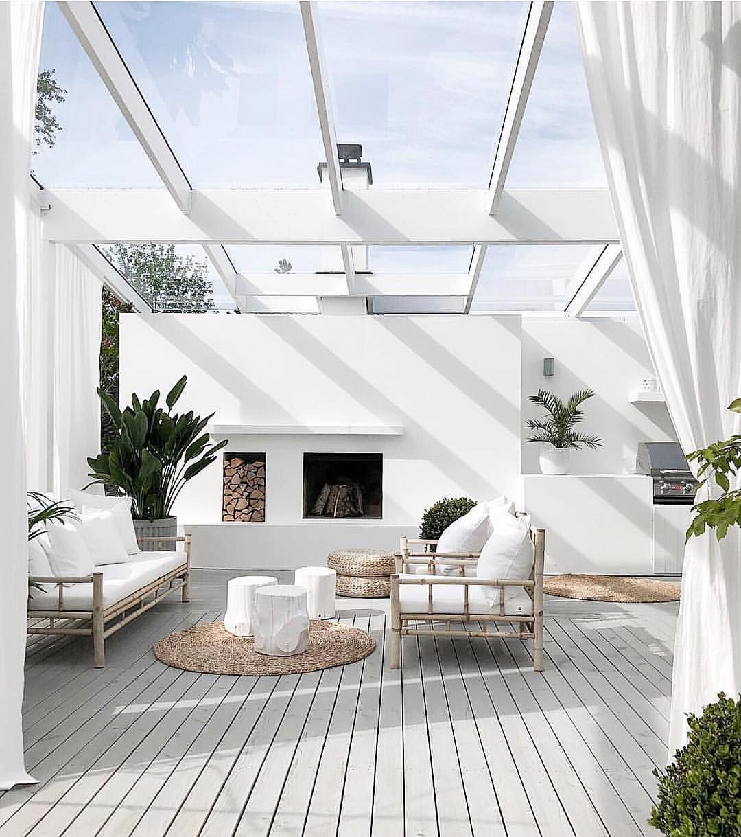 In the cool winter months this is the perfect space to ... on Cheap Outdoor Living id=46328