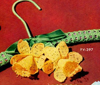 Daffodil Hanger Pattern | Crochet Patterns ~ free pattern