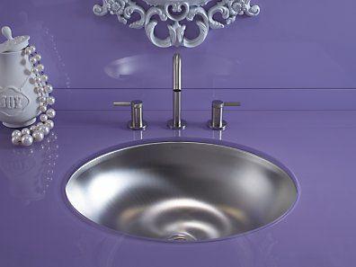 Kohler K 2608 Su Bachata Stainless Steel Sink Stainless