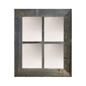 3 Medium 4 Pane Barn Window Mirror By Window Mirror Window Mirror Home Decor Mirrors Rustic Mirrors