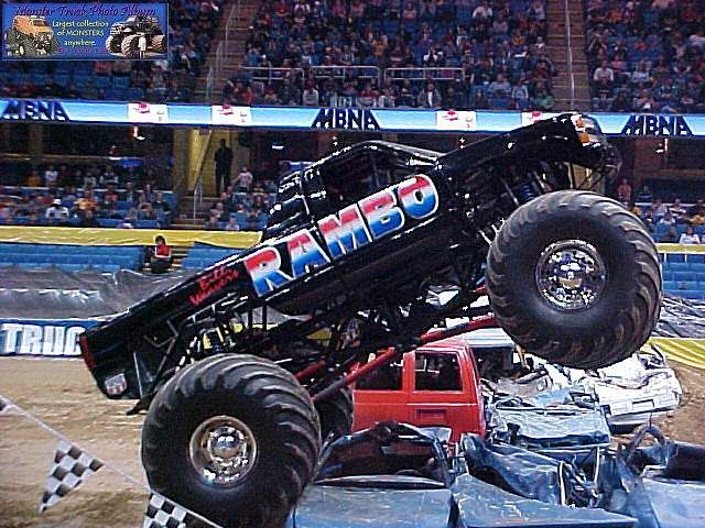 Rambo Monster Truck Monster Truck Photo Album With Images