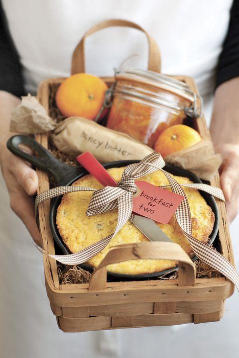 Gift basket ideas christmas make