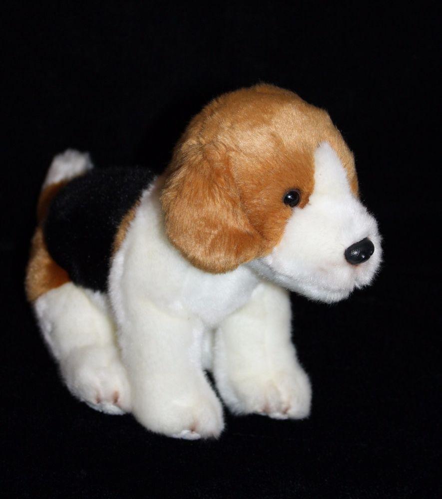 Demdaco Nat Jules Beagle Small Dog 9 Soft Toy Stuffed Animal Realistic Plush 2014 Beagle Nat Jules Plush Dog Pet Toys Animals [ 1000 x 885 Pixel ]