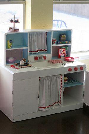 DIY Play Kitchen | COCINITA | Pinterest | Cocinas de juguete ...