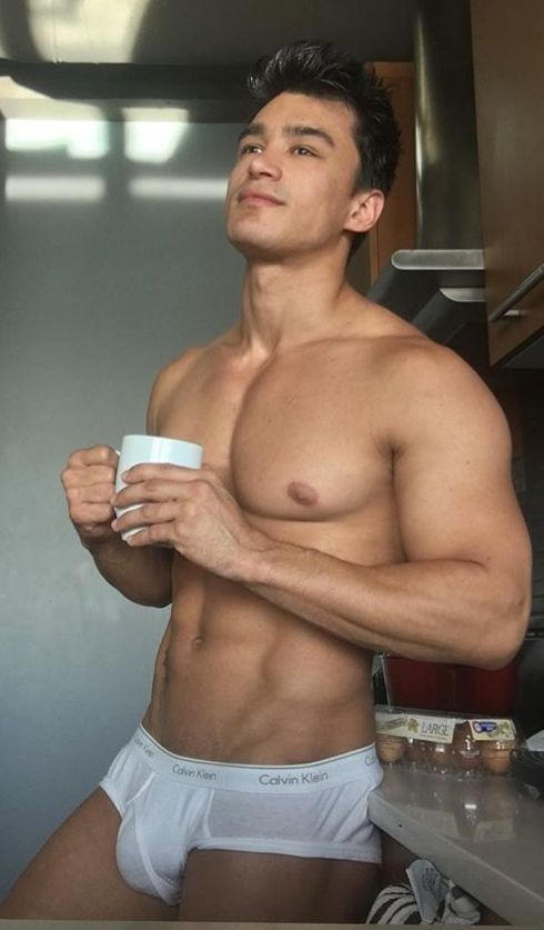 Instagram account features nothing but pictures of beautiful men and their coffee