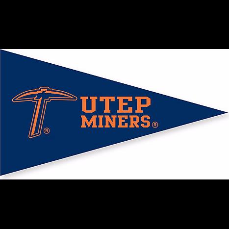 University Of Texas At El Paso Spirit Banner Texas University University Of Texas