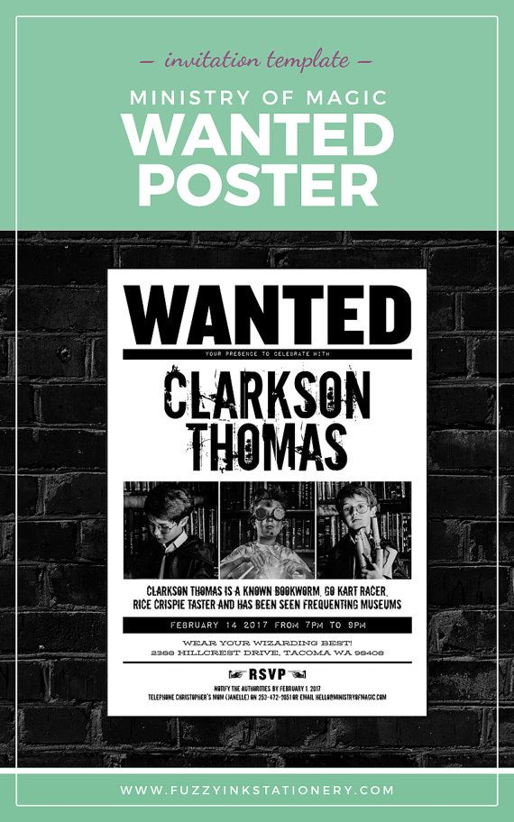 Harry Potter, Ministry of Magic, wanted poster, Hogwarts ...