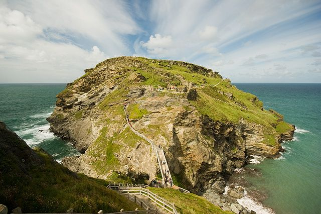 Tintagel - the legendary home of King Arthur, spent many a day walking around these parts, so magical