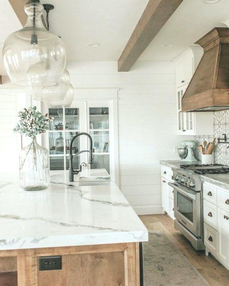 60 great farmhouse kitchen countertops konzeption ideas