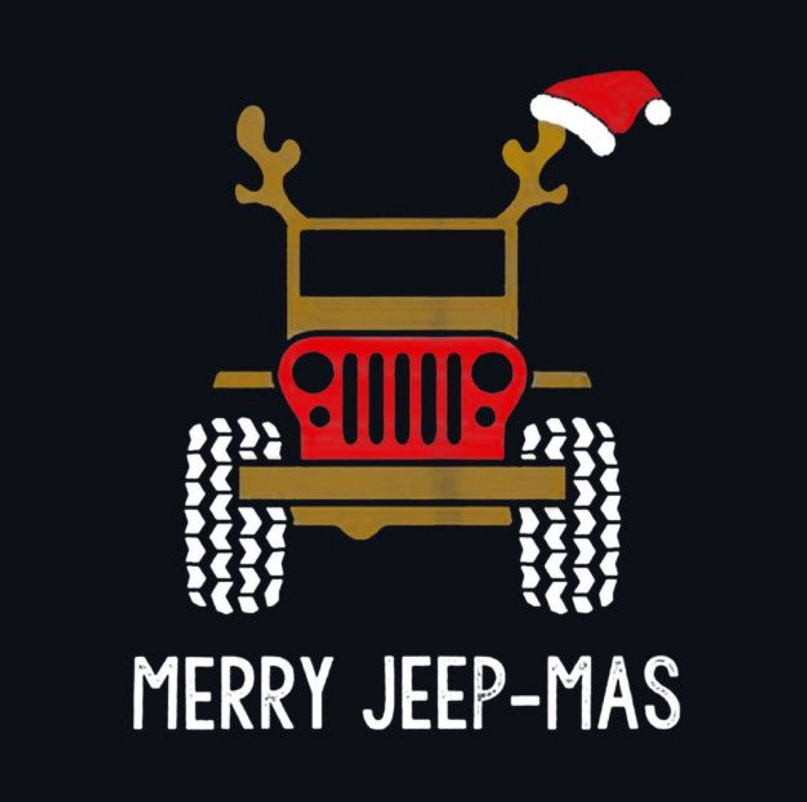 Christmas Jeep.Merry Jeep Mas A Girl Her Jeep Jeep Jeep Accessories