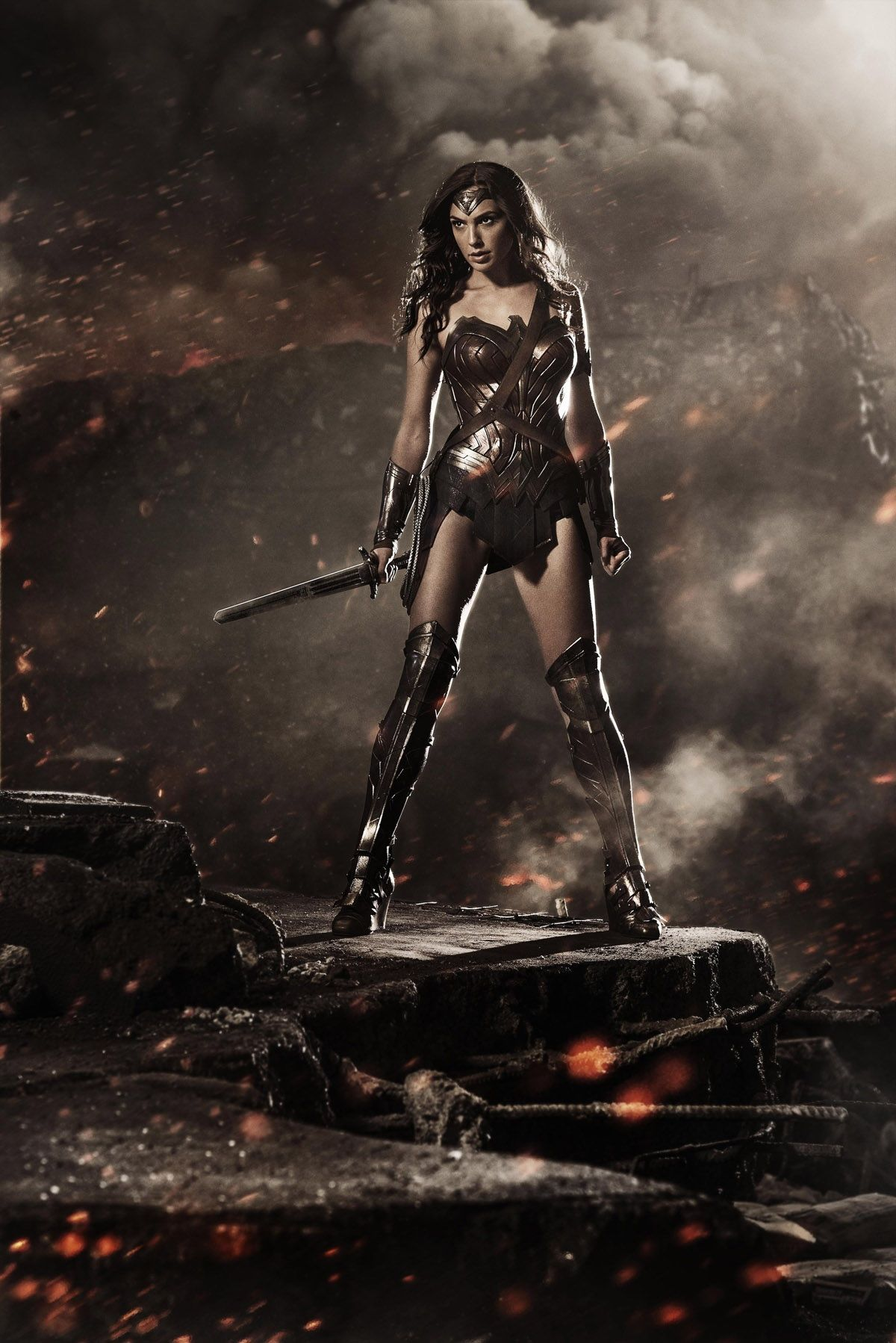 We have finally seen our first images of Gal Gadot's costume, so what is the correct reaction to Zack Snyder's Wonder Woman?