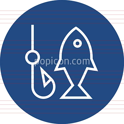 Fishing Fish Hook Outline Icon Outline, Icon, Fish hook