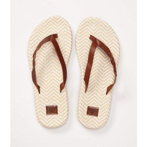 Roxy Kalani Sandals ($29) ❤ liked on Polyvore