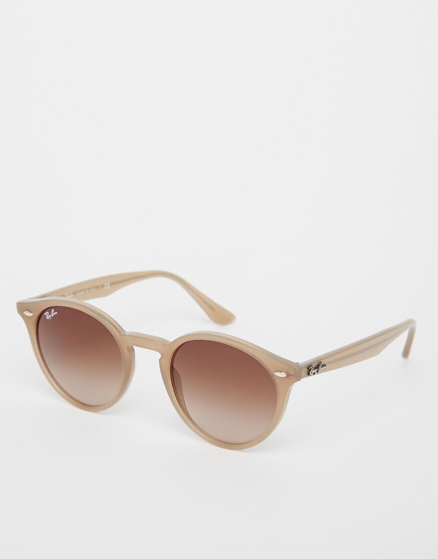 8e0270db8e7ef2 Ray-Ban Round Sunglasses 0RB2180   Eye Wear   Sunglasses, Ray ban ...
