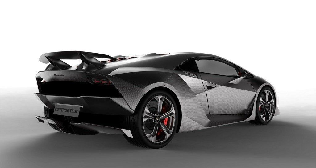 Lamborghini Sesto Elemento Rear View 3 Jpg 1024 546 Automotive