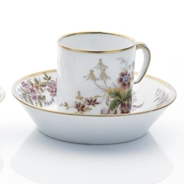 Tableware: A Sèvres Cup & Saucer