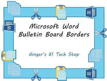 teacher borders for microsoft word