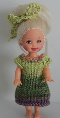 """Handmade Crochet Knit Kelly Clothes Outfit for 4.5"""" Kelly Doll 618"""
