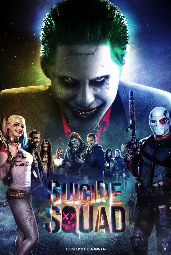 Image result for Suicide Squad 2016 poster