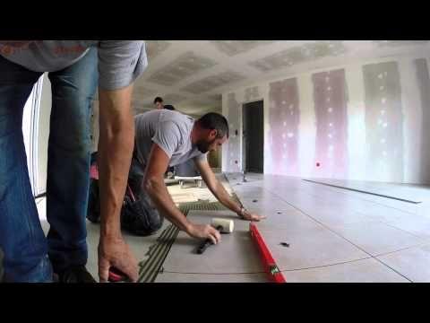 Pose de carreaux de grand format avec désolidarisation et profilés de bordure - YouTube | Poser ...