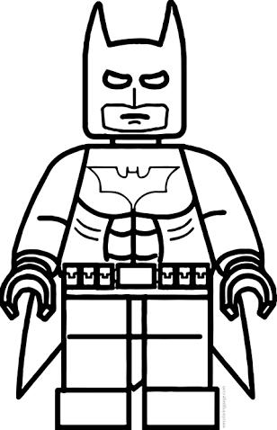 Resultado de imagen para batman lego para colorear