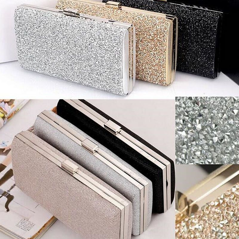 Woman Evening bag Women Diamond Rhinestone Clutch Crystal Day ...