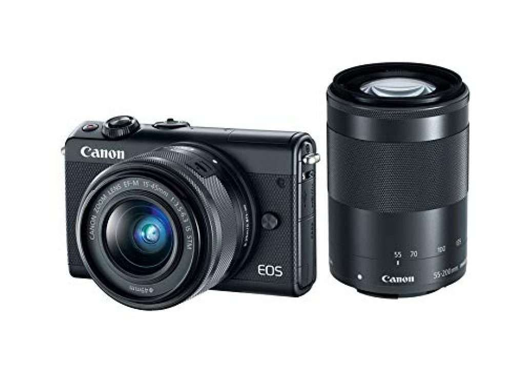 Canon eos m100 mirrorless digital camera reviews with